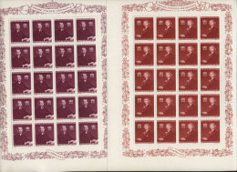 Liechtenstein Michel No. 211 - 213 ** postfrisch Bogen gefaltet