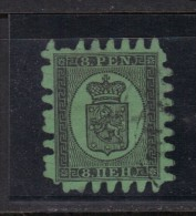 FINLANDE N°  6 Obl. Perçage III Signé R.Calves - 1856-1917 Russian Government