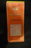 Michelin 172 Algerie - Cartes Routières