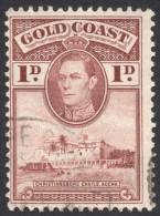 Gold Coast, 1 P, 1938, Sc # 116, Mi # 106, Used (2) - Gold Coast (...-1957)