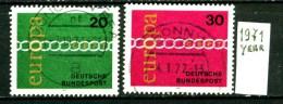 EUROPA - CEPT - GERMANIA - Year 1972 - Viaggiato - Traveled -voyagè -gereist. - Europa-CEPT