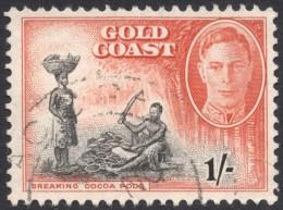 Gold Coast, 1 S, 1948, Sc # 138, Mi # 128, Used - Gold Coast (...-1957)