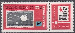 HONGARIJE - Michel - 1977 - Nr 3208A+Zf - MNH** - Ungarn