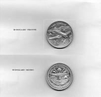50 Dollari Isole Marshall Fior Di Conio Argento - Stati Uniti
