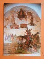 V09-64-63-issoire -eglise Le Jugement Dernier---peinture Murale-- - Issoire