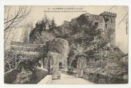 73 Saint Pierre D´Albigny. Entrée Du Chateau De Miolans Et Tour Saint Pierre (7642) - Saint Pierre D'Albigny