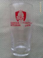 Vaso De Cerveza Artesana De Castilla Y León. España - Vasos