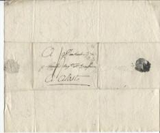 Précurseurs Griffe Lille 57 Datée 29/9/1815 V.Mr.Cornélis Brasseur à Alost Taxé 4 PR423 - 1801-1848: Precursores XIX