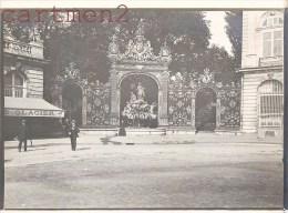 NANCY PLACE STANISLAS STATUE DU THIERS FONTAINE D'AMPHITRITE EGLISE 1900 - Nancy