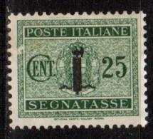 PIA - RSI - 1944 - Segnatasse - (SAS 6) - 4. 1944-45 Social Republic