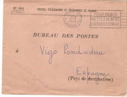 Carta De Francia De 1962 - France
