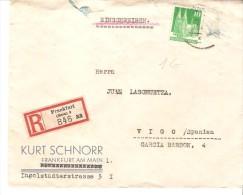 Carta De Alemania  A Vigo - Sin Clasificación