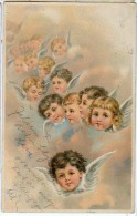 AK ENGEL ANGEL   OLD POSTCARD 1903 - Anges