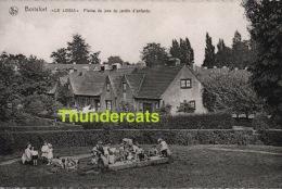 CPA WATERMAAL BOSVOORDE ** WATERMAEL BOITSFORT LE LOGIS ** PLAINE DE JEUX DU JARDIN D'ENFANTS - Watermael-Boitsfort - Watermaal-Bosvoorde