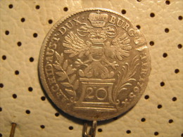 AUSTRIA 20 Kreuzer 1765 - Austria