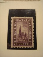 AUTRICHE . EXPOSITION PHILATELIQUE INTERNATIONALE VIENNE 1933 . WIPA 1933 - Vignetten (Erinnophilie)