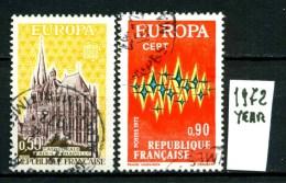 EUROPA - CEPT - FRANCIA  - Year 1972 - Viaggiato - Traveled -voyagè -gereist. - Europa-CEPT
