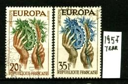EUROPA - CEPT - FRANCIA  - Year 1957 - Viaggiato - Traveled -voyagè -gereist. - Europa-CEPT