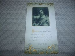 Souvenir Image Pieuse Communion Saulnes 1910 P CHAMFRAULT - Communion