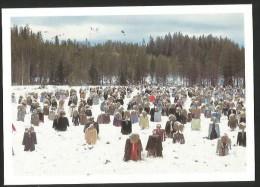 QUIET PEOPLE (over 1000) Finland Suomussaluni FIELD ART 2013 - Finland