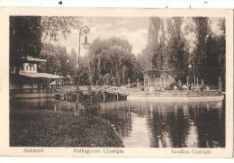 BUKAREST Volksgarten Cismigiu    - Unused - Roumanie