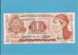 HONDURAS - 1 LEMPIRA - 30.03.1989 - P 68b - UNC. - Honduras