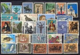 GRECIA    -  LOTTO GR6: 27 FRANCOBOLLI  Usati / Used - Collections