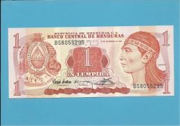 HONDURAS - 1 LEMPIRA - 10.09.1992 - P 71 - UNC. - Honduras