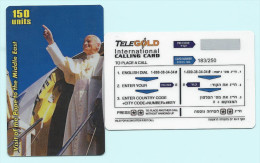 Israel (D) Visit Of The Pope To The Middle East 300 Units - Personaggi