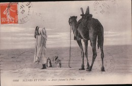 30100   PRIERE  1923  TIMBRE - Scènes & Types