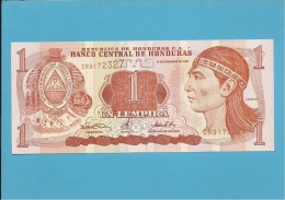 HONDURAS - 1 LEMPIRA - 14.12.2000 - P 84 - UNC. - Honduras