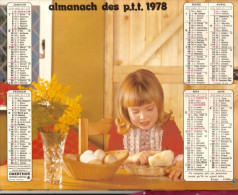 Almanach De P.t.t 13 Bouches Du Rhone - Calendars