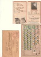 Lot De Papiers D´identité Et Titres - Documents Historiques
