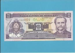 HONDURAS - 2 LEMPIRAS - 18.09.1997 - P 80 - UNC. - Honduras