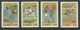 Zambia 1992 SC 582-585 Olympics - Zambia (1965-...)