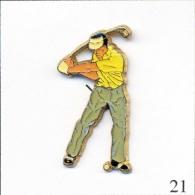 Pin´s - Sport - Golf. Estampillé Corner / Coinderoux. Epoxy. T135-21 - Golf