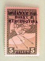 Yugoslavia - Bosnia - 1918 - Lightning - Bosnia And Herzegovina