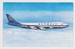 OLYMPIC AIRWAY - BOEING 747 - 200 B - JUMBO JET - FORMAT CPA - 1946-....: Moderne