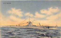 10989 U.S.S. Dolphin  Submarine - Sous-marins