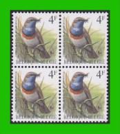 BUZIN - 2321** Gorge Bleue / Blauwborstje - S2 (witte Gom Blanche) - 1985-.. Oiseaux (Buzin)