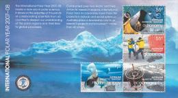 Australian Antarctic Territory 2008 International Polar Year Mini Sheet Used - Unclassified