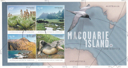 Australian Antarctic Territory 2010 Macquarie Island  Mini Sheet Used - Unclassified