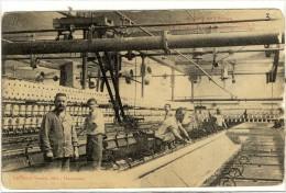 Carte Postale Ancienne Hautmont - Salle De Filature - Industrie, Usine, Textile - Autres Communes