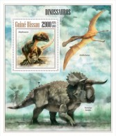 gb13505b Guinea Bissau 2013 Dinosaurs s/s
