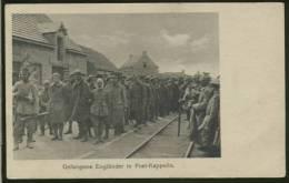 BELGIQUE POELKAPELLE / Gefangene Engländer / - Langemark-Poelkapelle