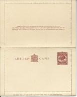 1912 George V 1 1/2d  Brown Letter Card. Front & Back & Inside Of Card Shown Complete Unused - 1902-1951 (Koningen)