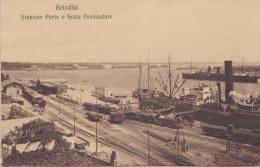 Italie. Brindisi. Stazione Porto E Scalo Peninsulare - Brindisi