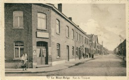 Le Bizet-Belge -Rue Du Touquet  -1936 ( Voir Verso ) - Komen-Waasten