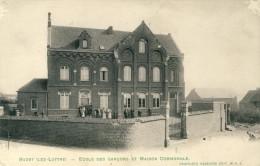 Buzet ( Lez Luttre ) - Ecole Des Garçons Et Maison Communale ( Voir Verso ) - Pont-à-Celles