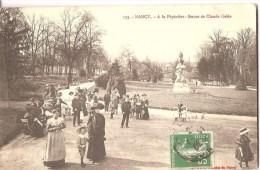 Meurthe Et Moselle  -  NANCY  - A La Pépinière,  Statue  De Claude Gelée - Nancy